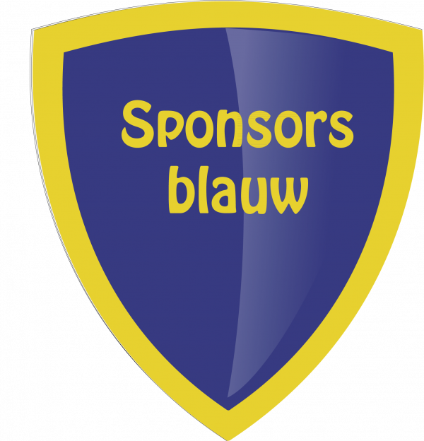 Sponsor Blauw